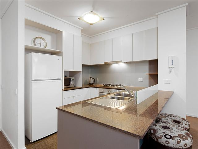 Melbourne Tower Sub-Penthouse Kitchen