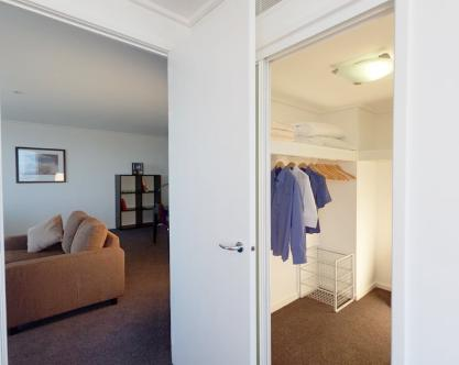 Melbourne Tower Sub-Penthouse Apartment Master Bedroom Walk-in Robe